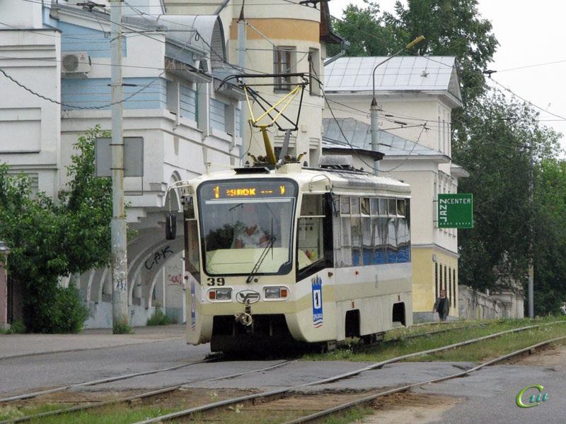 Ярославль. 71-619КТ (КТМ-19КТ) №39