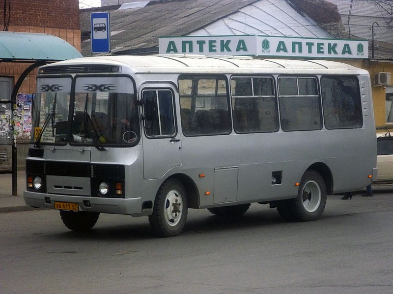 Таганрог. ПАЗ-32054 кв611