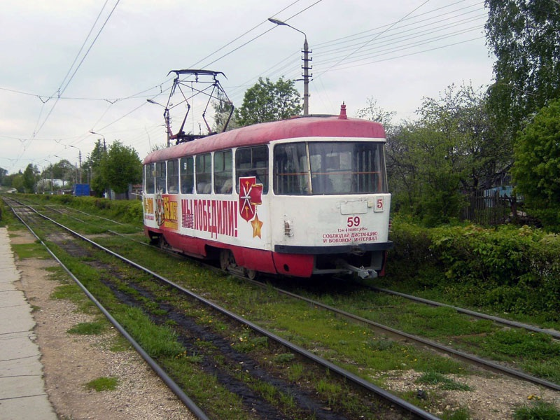 Тула. Tatra T3SU №59