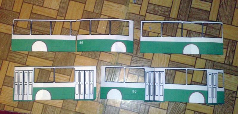 Таганрог. Подготовка к созданию модели таганрогского троллейбуса ЗиУ-683В №90