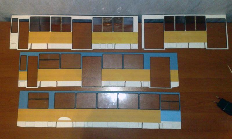 Таганрог. Подготовка к созданию моделей таганрогских троллейбусов ЗиУ