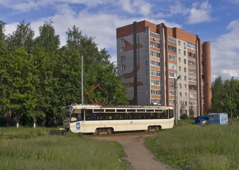 Ярославль. 71-619КТ (КТМ-19КТ) №28