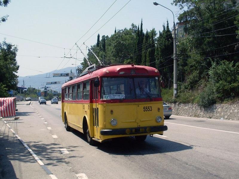 Ялта. Škoda 9Tr21 №5553