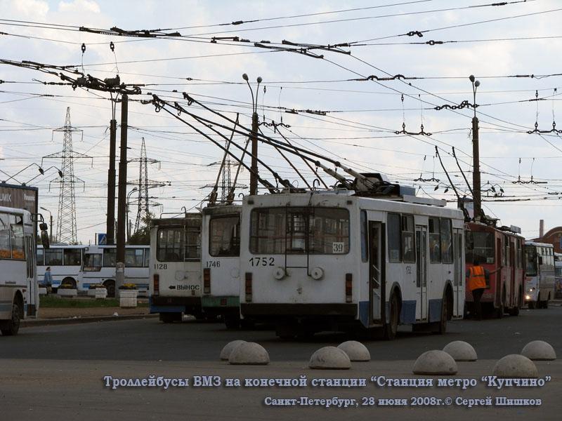 Санкт-Петербург. ВМЗ-5298.00 (ВМЗ-375) №1746, ВМЗ-5298-20 №1752, ВМЗ-6215 №1128