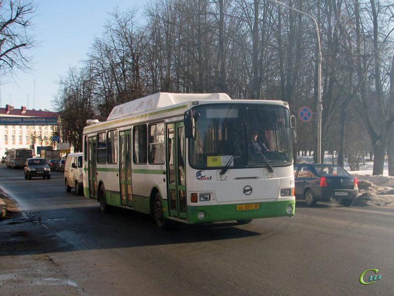 Великий Новгород. ЛиАЗ-5256.57 ас831