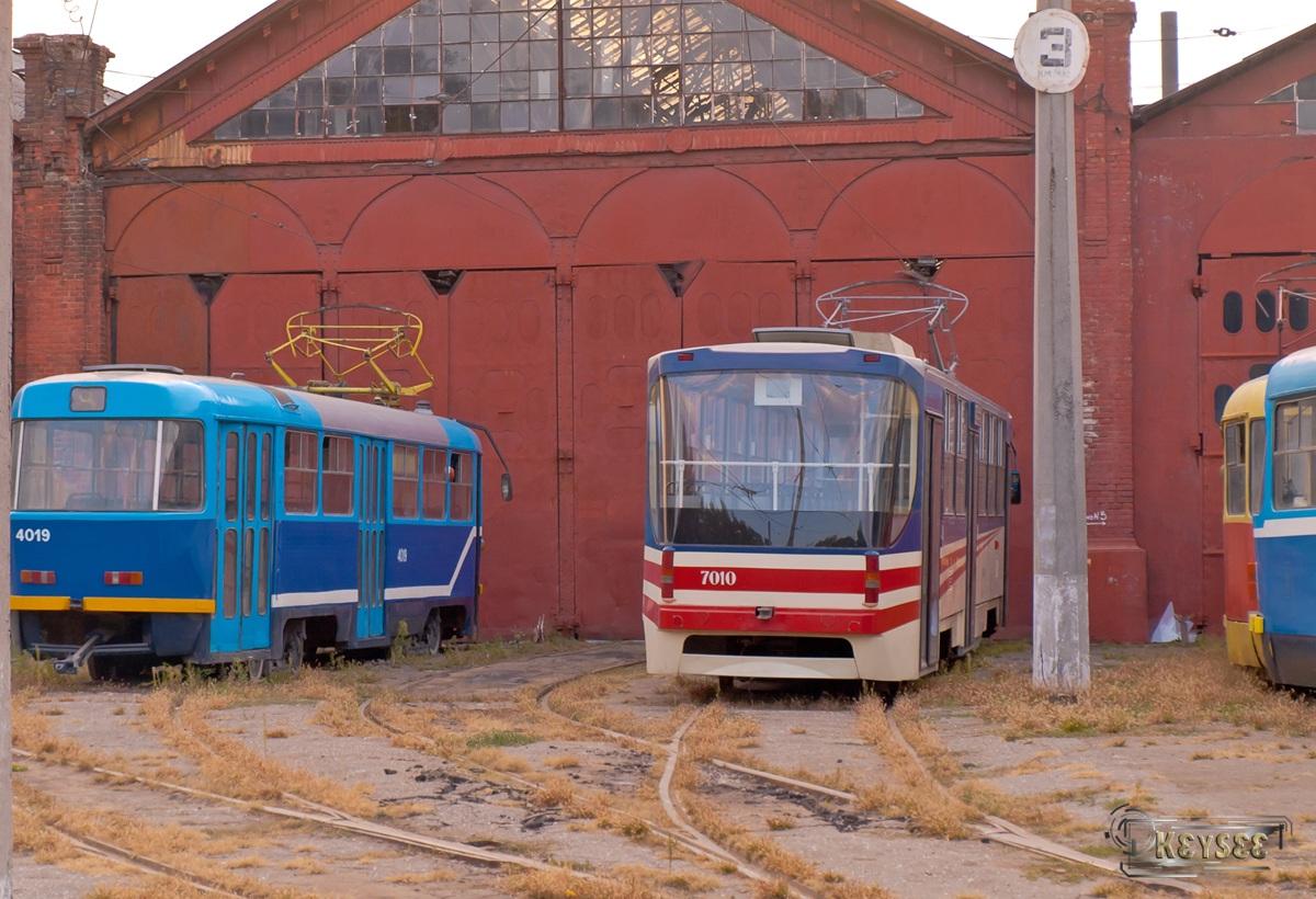 Одесса. К1 №7010, Tatra T3SU мод. Одесса №4019