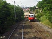 Прага. Tatra T3 №8099