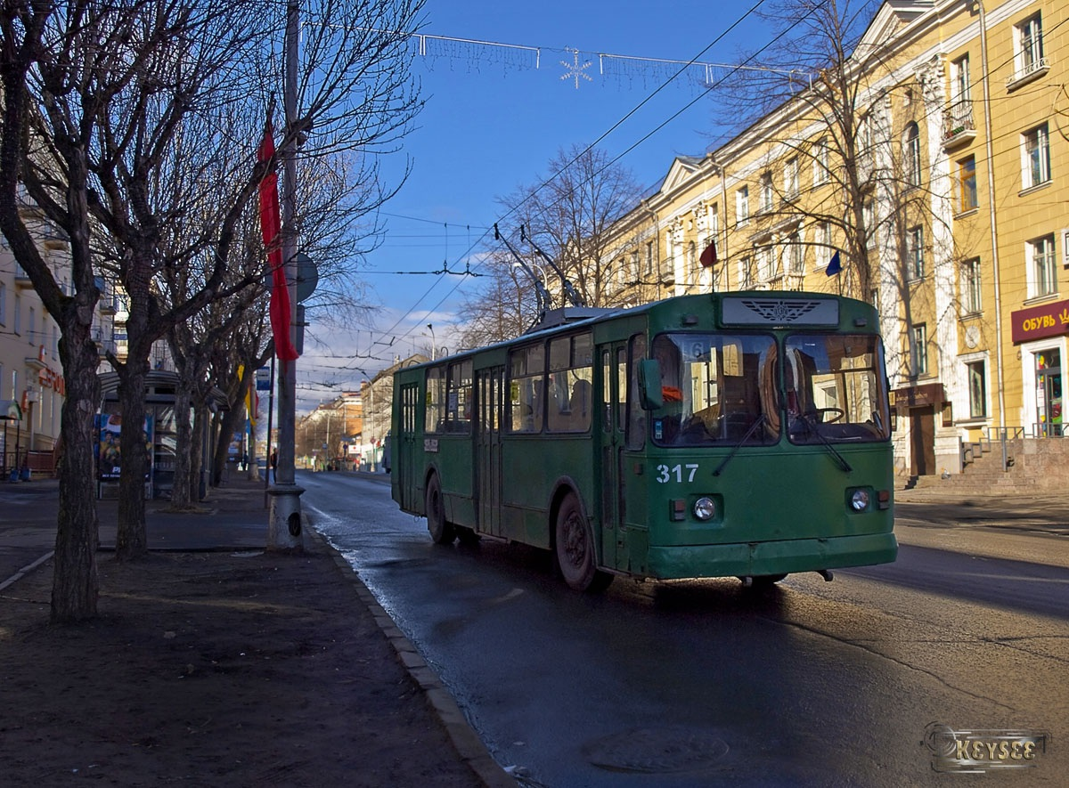 Петрозаводск. ЗиУ-682Г00 №317