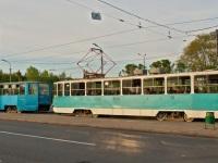 Казань. 71-402 СПЕКТР №2203, 71-608КМ (КТМ-8М) №2381
