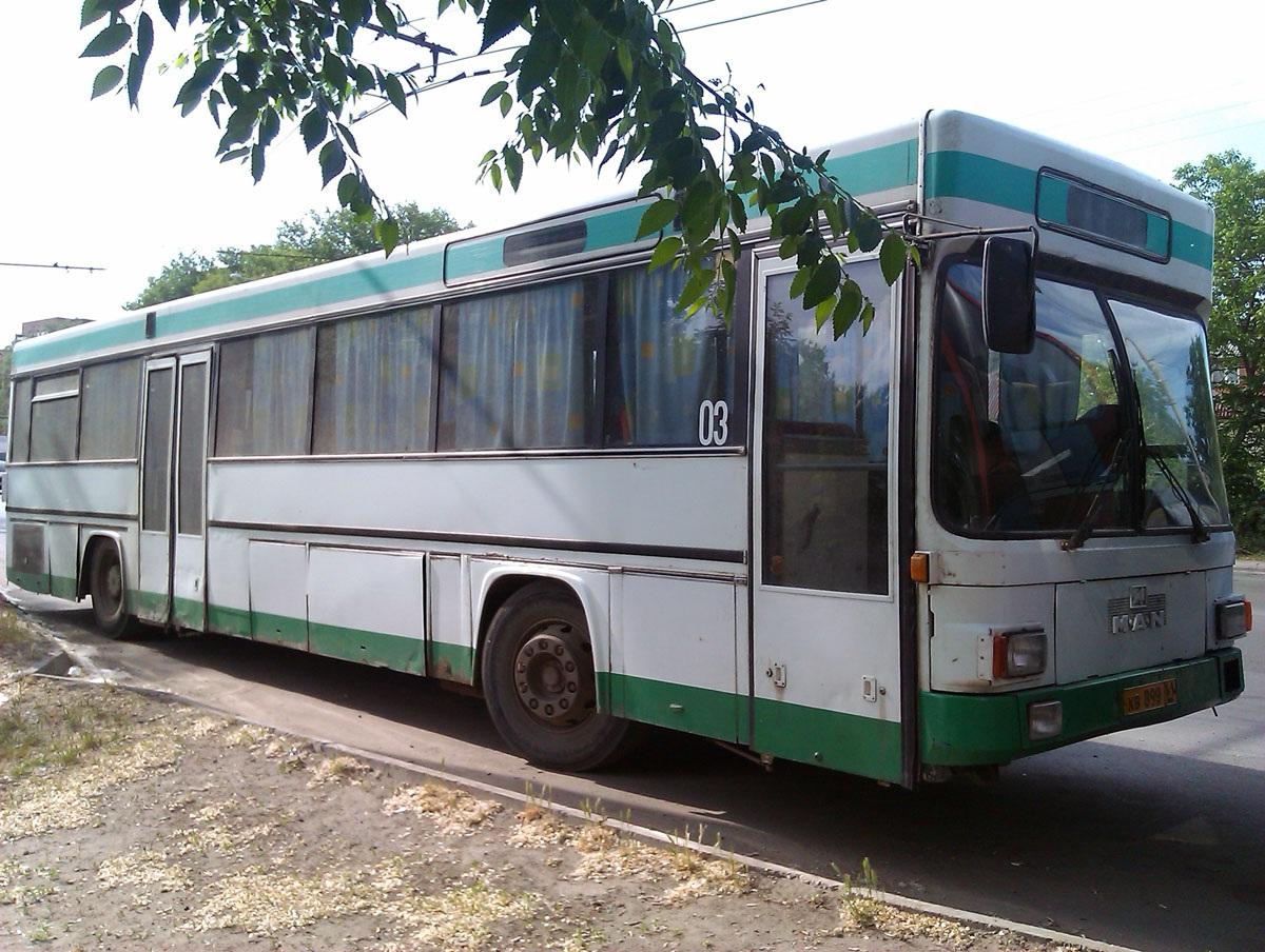 Ростов-на-Дону. MAN SÜ242 кв899