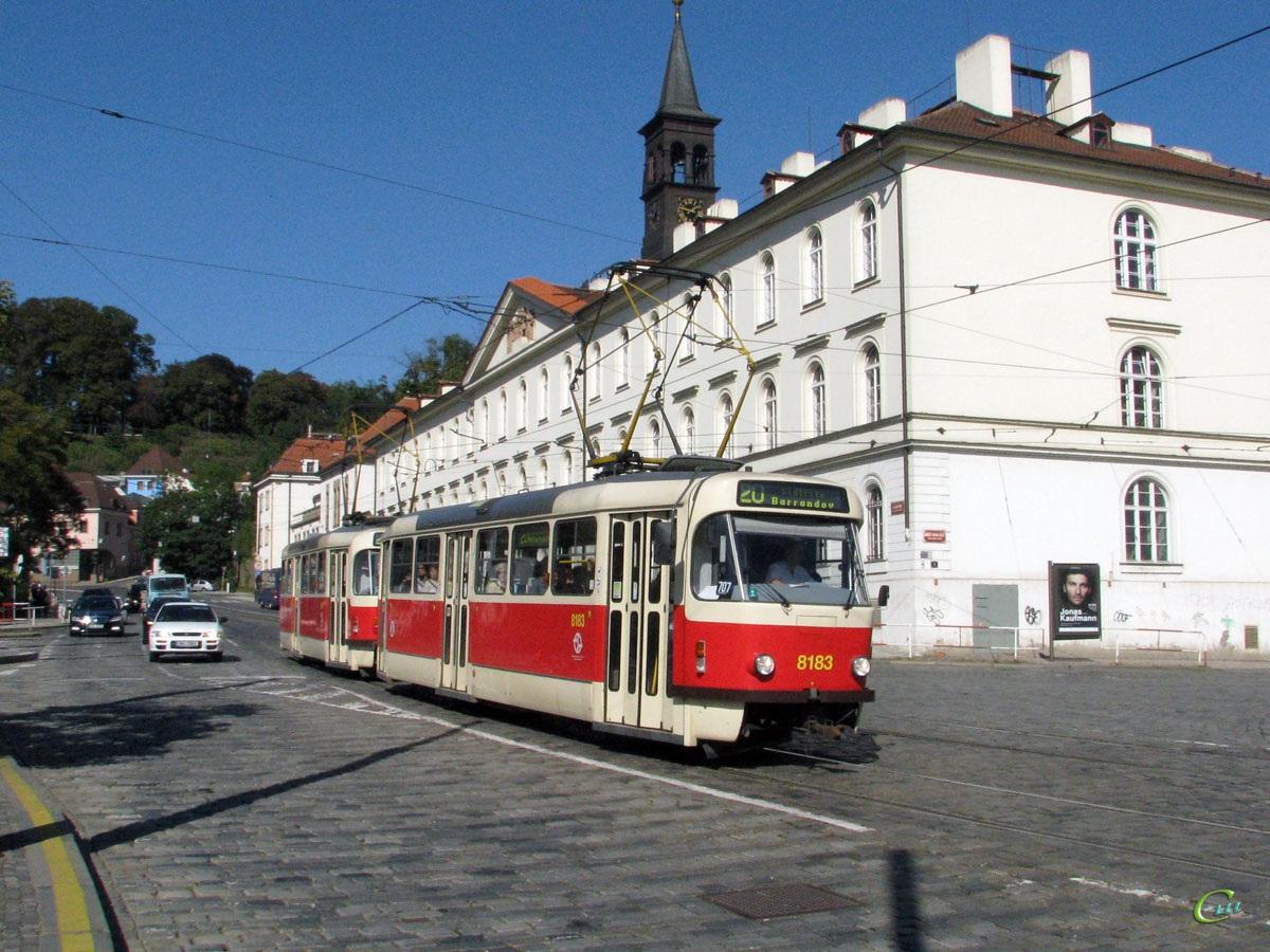 Прага. Tatra T3R.PV №8183, Tatra T3R.PV №8184
