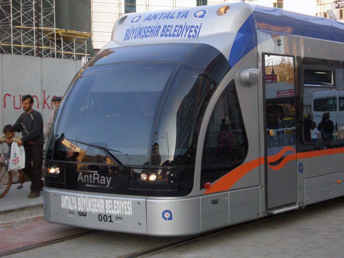 Анталья. CAF Streetcar №001