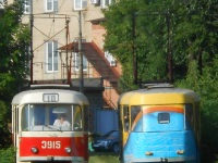 Донецк. Tatra T3 (двухдверная) №3915, Tatra T3 №3910