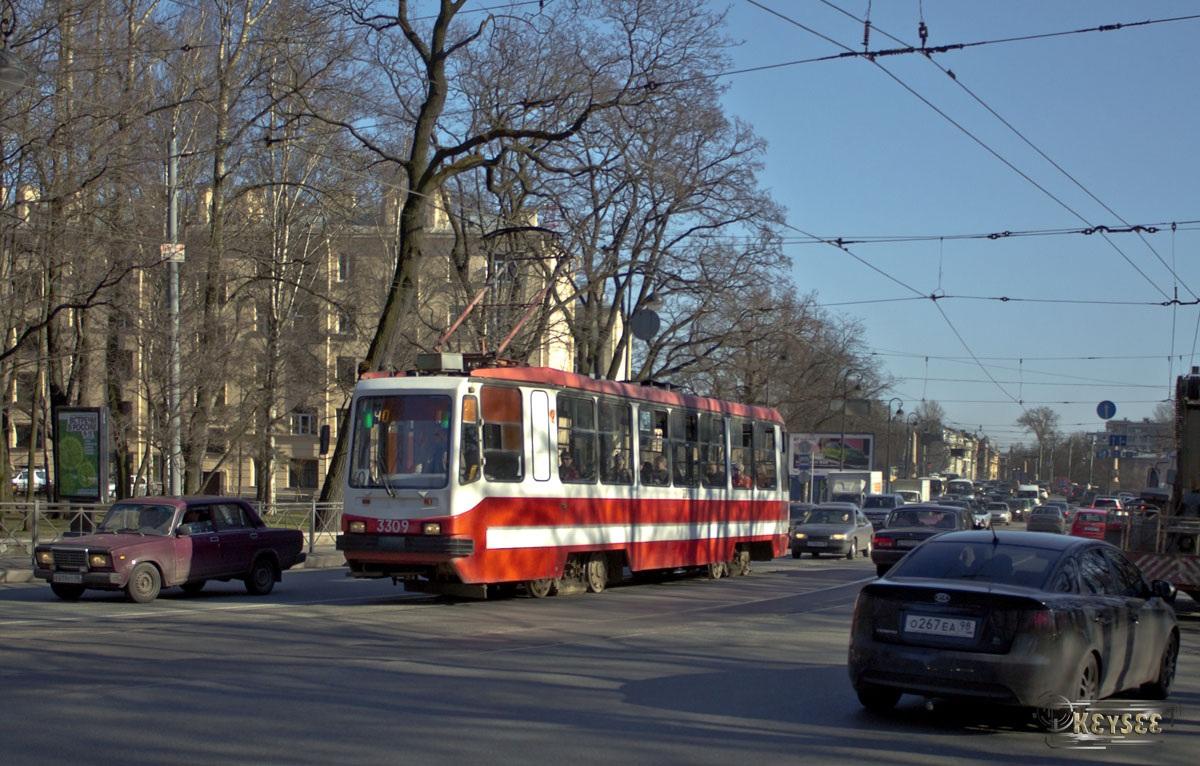 Санкт-Петербург. 71-134А (ЛМ-99АВ) №3309