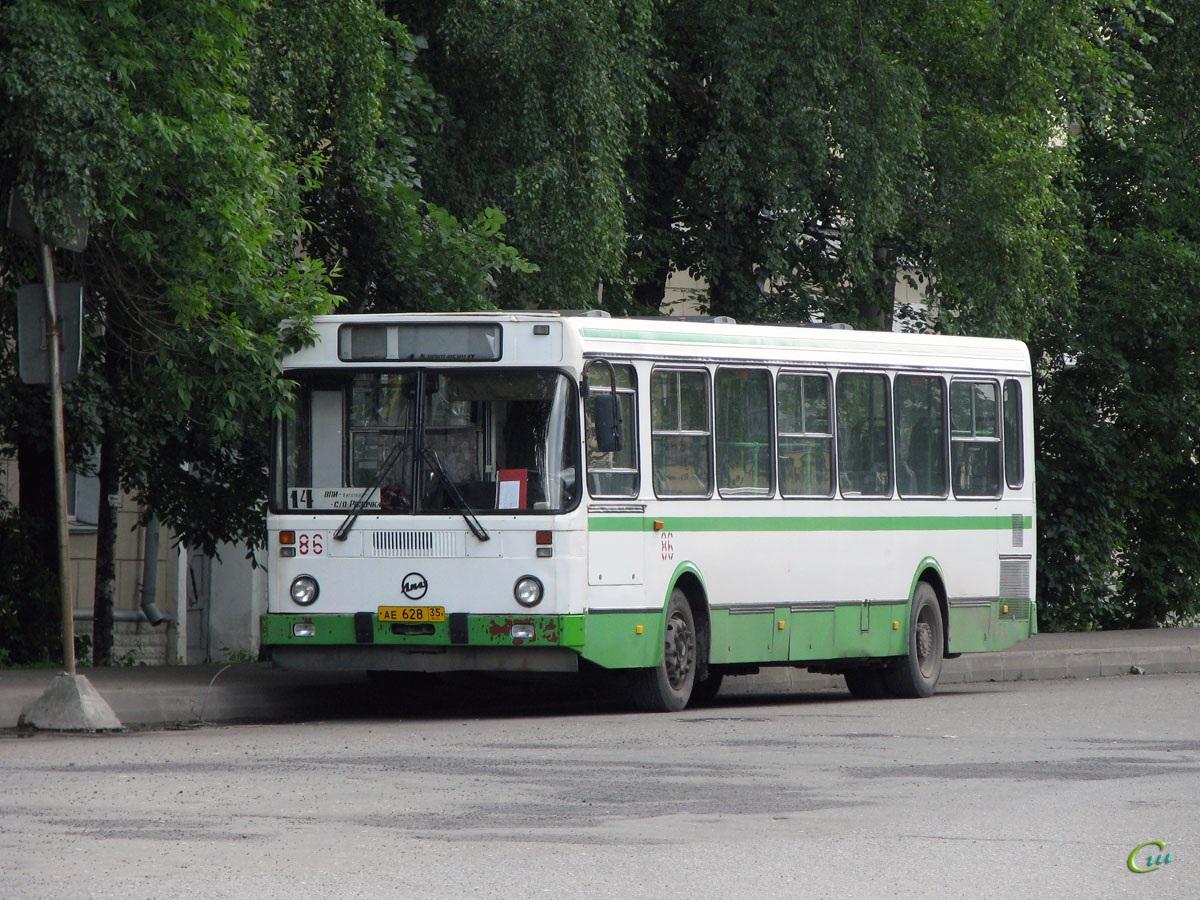 Вологда. ЛиАЗ-5256.45 ае628