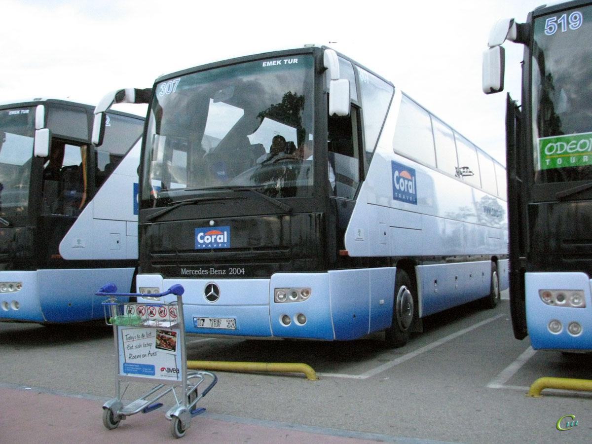 Анталья. Mercedes-Benz O403SHD 07 YBF 32