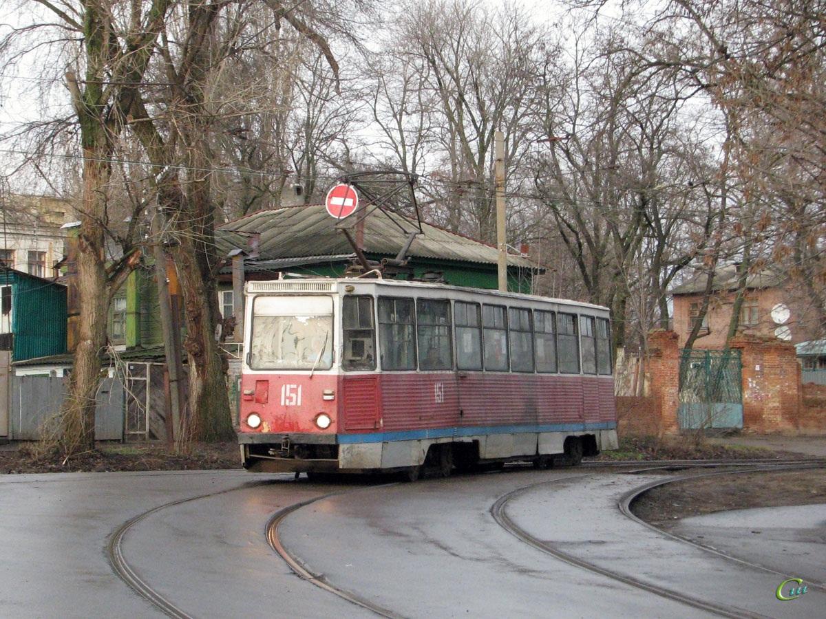 Новочеркасск. 71-605 (КТМ-5) №151