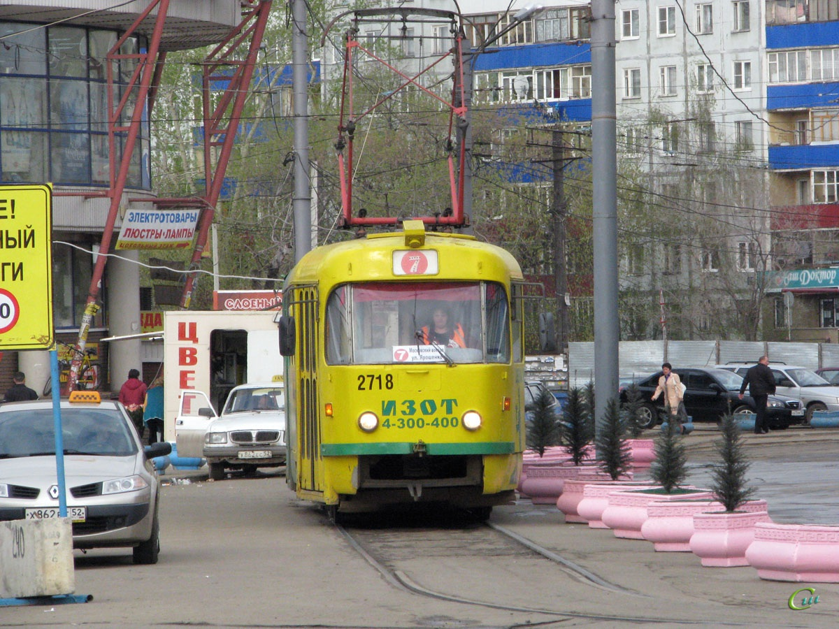 Нижний Новгород. Tatra T3 №2718