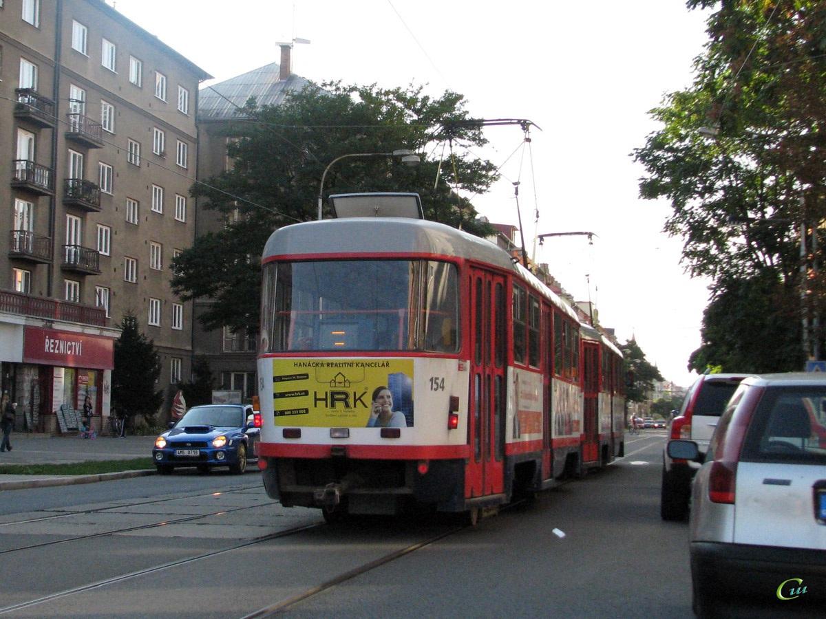 Оломоуц. Tatra T3 №154