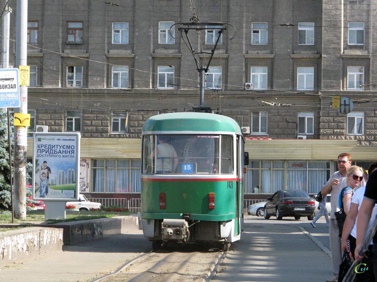Днепр. Tatra T4 №1420