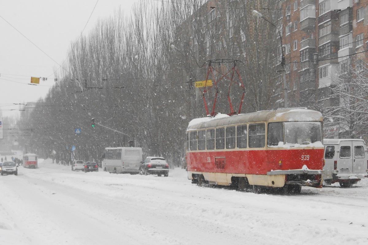 Донецк. Tatra T3 №939