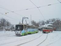 Донецк. К1 №3026, Tatra T3 №923