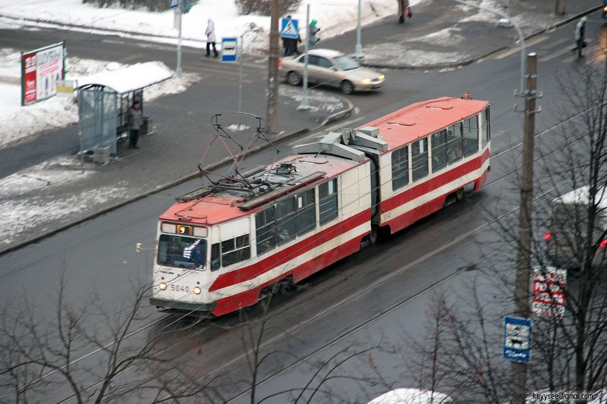 Санкт-Петербург. ЛВС-86К №5040