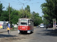 Николаев. 71-605А (КТМ-5А) №2123, 71-605 (КТМ-5) №1083, ЛАЗ-695Н BE6913AA