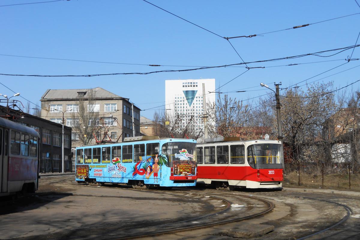 Донецк. К1 №3023, К1 №3027