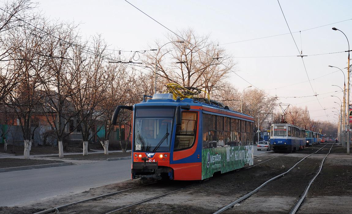 Таганрог. 71-605 (КТМ-5) №287, 71-623-02 (КТМ-23) №361