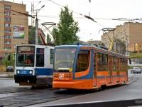 Смоленск. 71-608К (КТМ-8) №221, 71-623-00 (КТМ-23) №247