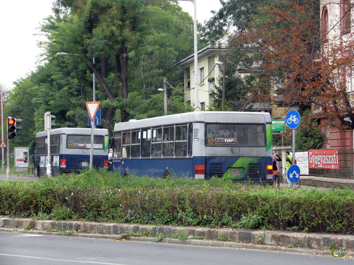 Будапешт. Ikarus 415 BPO-750, Ikarus 415 BPO-717