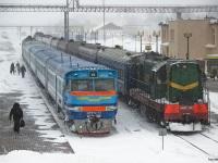 Могилев. ДРБ1м-13, ЧМЭ3т-7112