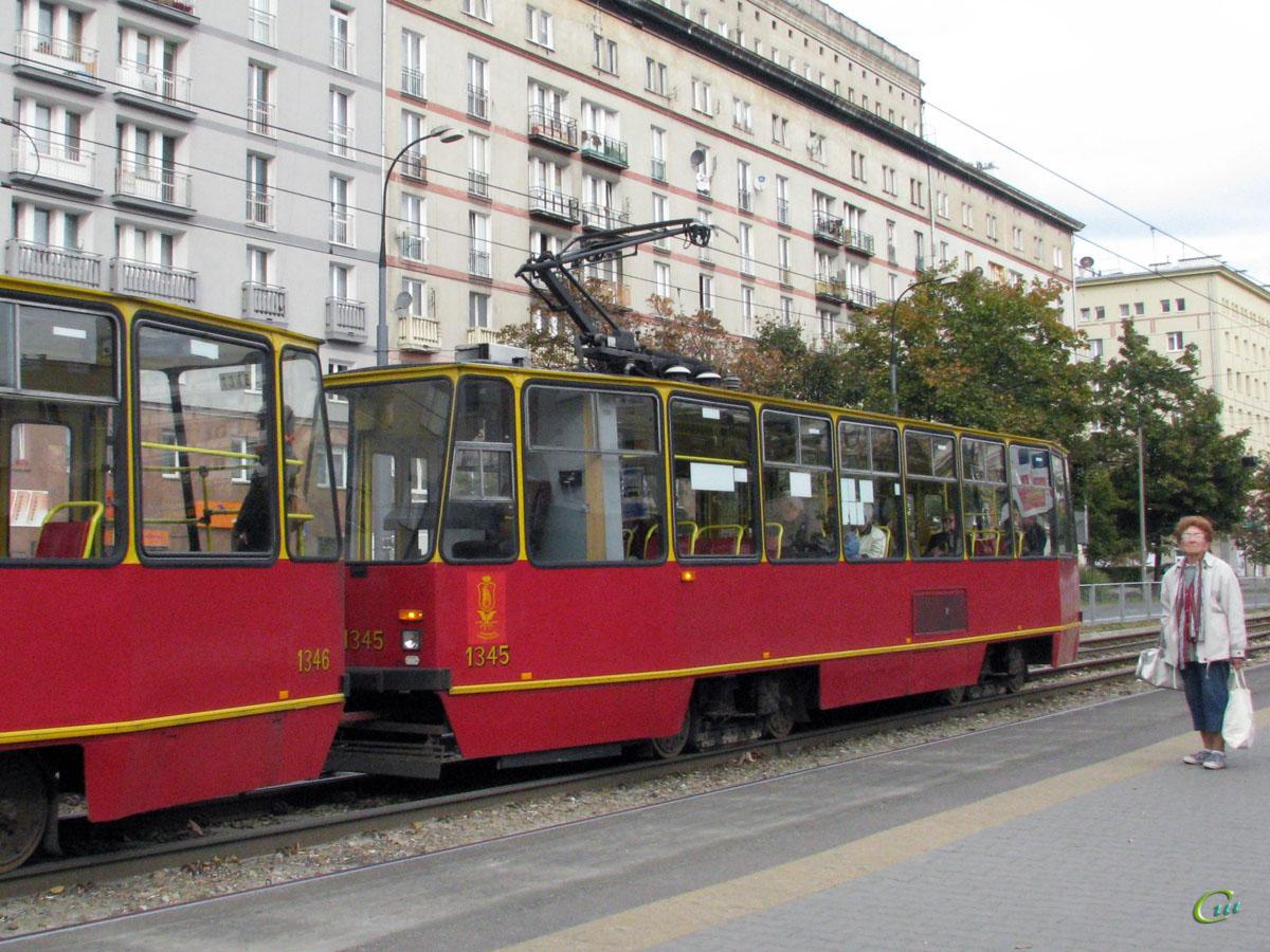 Варшава. Konstal 105N №1345