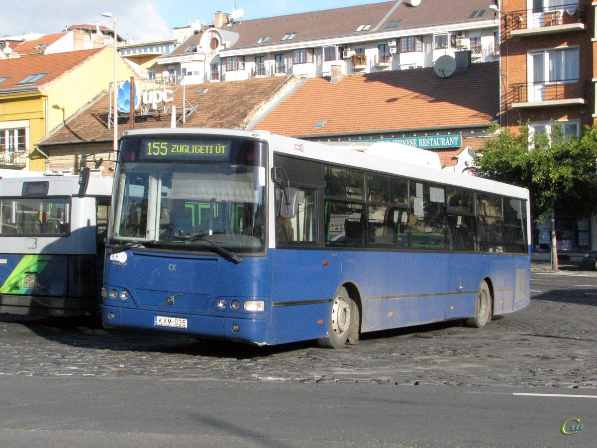 Будапешт. Alfabusz Localo (Volvo B7RLE) KXM-035