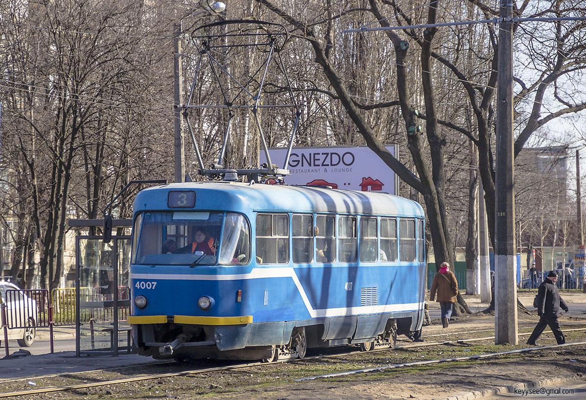 Одесса. Tatra T3R.P №4007
