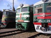 Ростов-на-Дону. ЭР22-29, ТЭ3-6938, ВЛ8-713