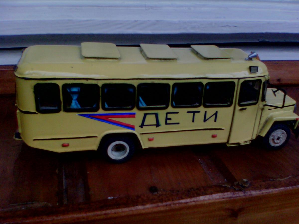 Санкт-Петербург. Школьный автобус КАвЗ-39765
