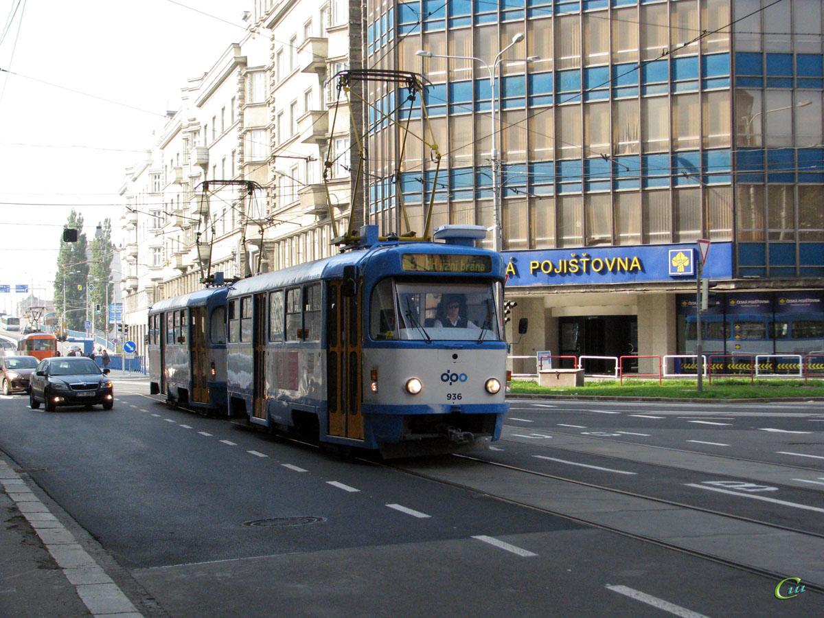 Острава. Tatra T3 №936