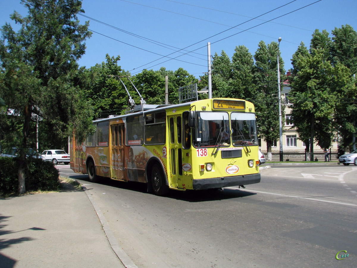 Краснодар. ЗиУ-682Г-018 (ЗиУ-682Г0Р) №138