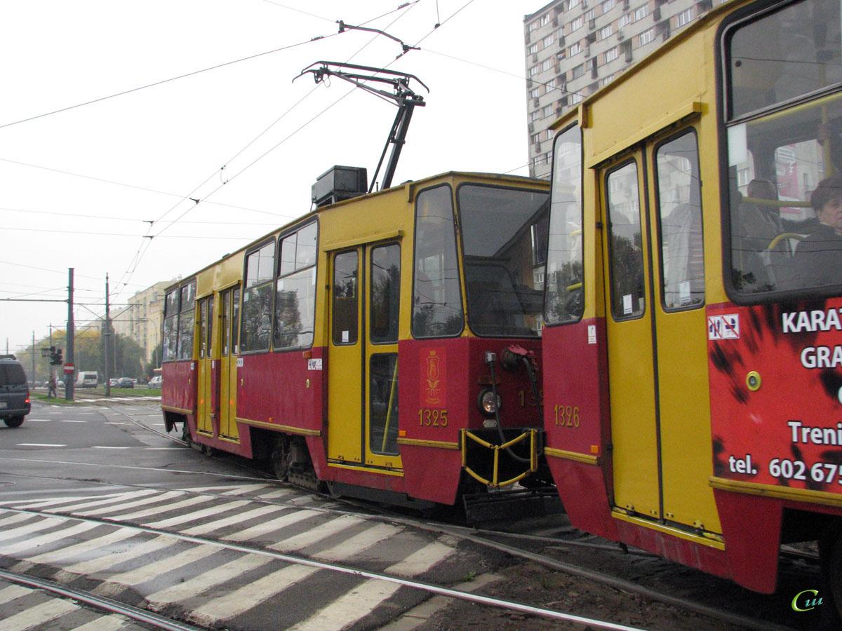 Варшава. Konstal 105Na №1325