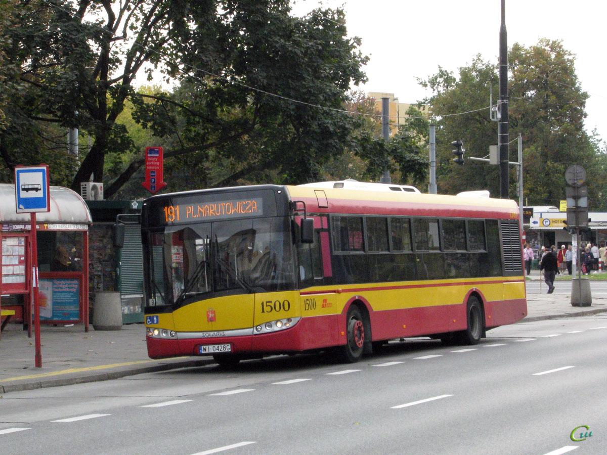 Варшава. Solaris Urbino 12 WI 0428G