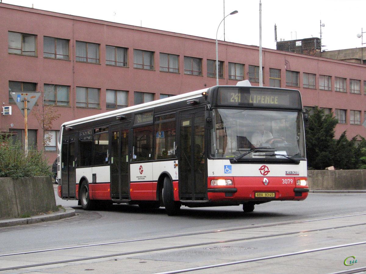 Прага. Renault Agora S/Karosa Citybus 12M ABA 93-45