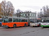 Псков. Hess (Volvo B10M-C) аа398, Mercedes-Benz O345 ав079, ЛиАЗ-5256.26 с718ео
