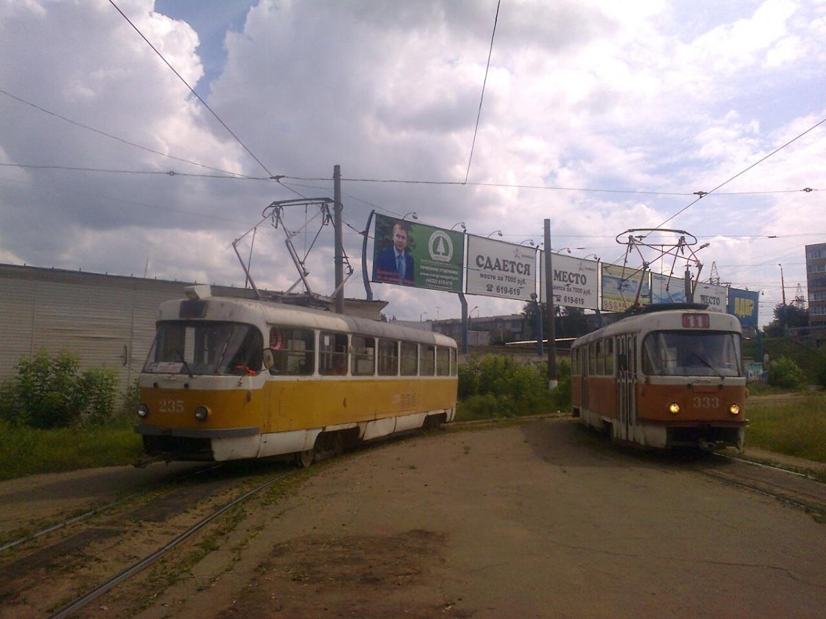 Тверь. Tatra T3SU №235, Tatra T3SU №333