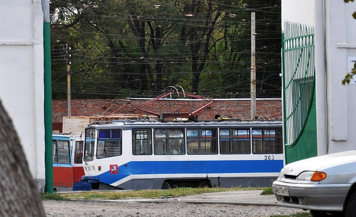 Таганрог. 71-608КМ (КТМ-8М) №363