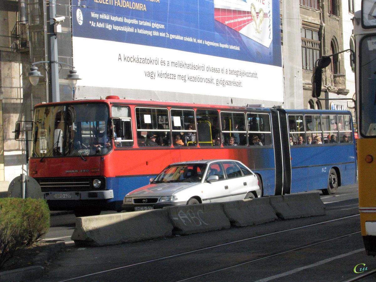 Будапешт. Ikarus 280.40A BPO-427