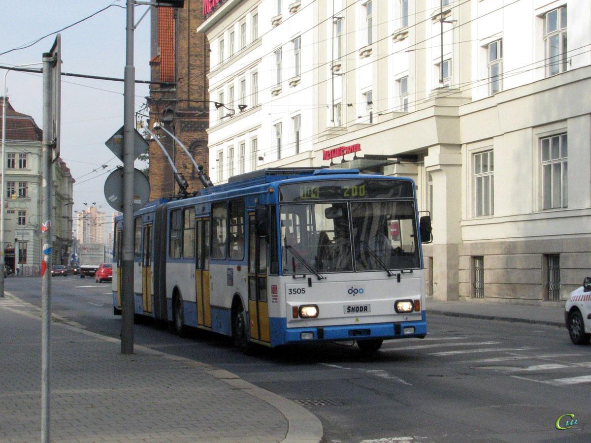Острава. Škoda 15TrM №3505