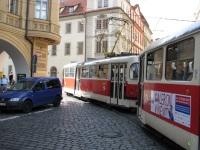 Прага. Tatra T3 №8491