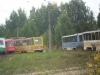 Тверь. Tatra T6B5 (Tatra T3M) №138, 71-608К (КТМ-8) №153, 71-608К (КТМ-8) №162